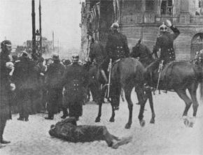 rostrattkravall 1917