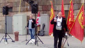 Jannis Konstantis, ordförande SEKO Tunnelbanan
