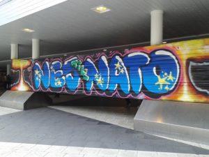 Grafitti mot NATO1