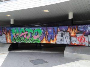 Grafitti mot NATO2
