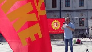 Jannis Konstantis, KKE
