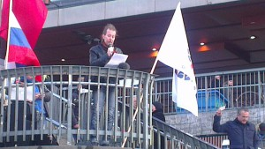 Manifestation 22 februari 2