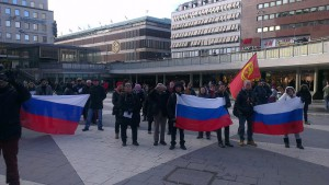 Manifestation 22 februari