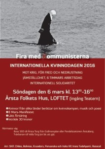 Internationella kvinnodagen 2016