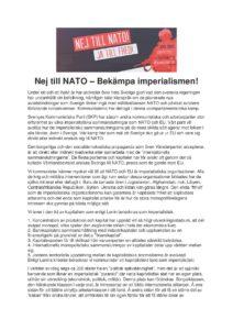 Om NATO och SKP sidan 1