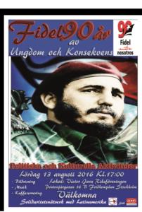 Fidel 90 år